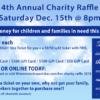 Sat. Dec. 15th - Fins Charity Raffle 2018